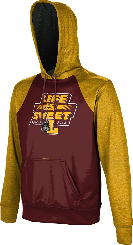Raglan School Spirit Sweatshirt Loyola University Chicago March Basketball Mens Pullover Hoodie