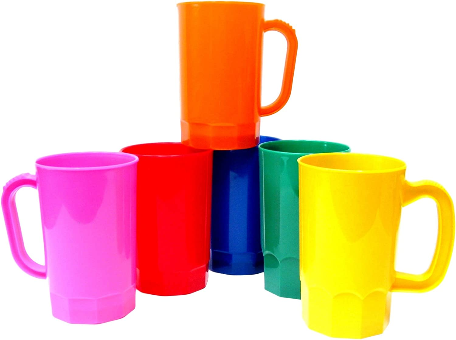 Green or Red Tupperware Gadget Keychain Beer//Drink Deluxe Acrylic Mug Cup Stein