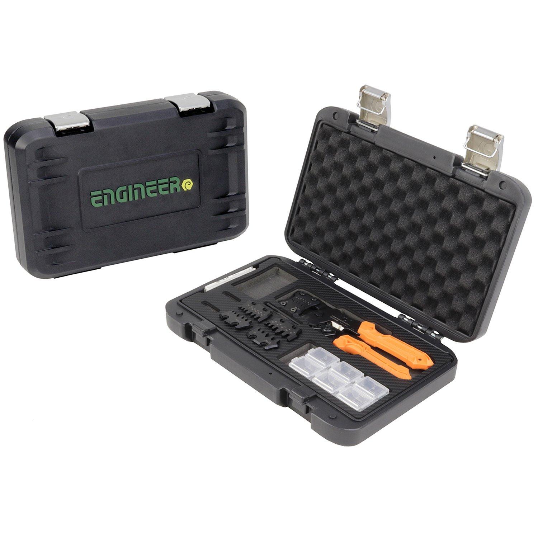 Orange ENGINEER pad-02 Pr/äzisions-Crimpzange