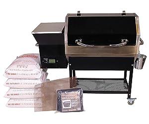 REC TEC Grills Stampede | RT-590 | Bundle