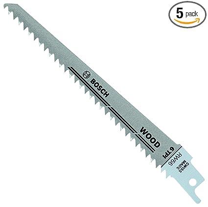 Bosch rw66 6 inch 6 tpi wood cutting reciprocating saw blades 5 bosch rw66 6 inch 6 tpi wood cutting reciprocating saw blades 5 pack keyboard keysfo Images