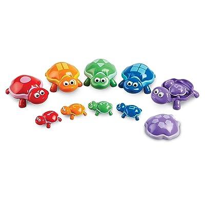 Learning Resources- Tortugas con números Snap-n-Learn, Color (LER6706): Juguetes y juegos