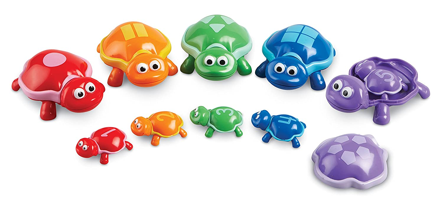 Learning Resources Number Turtles Set 15 Pieces