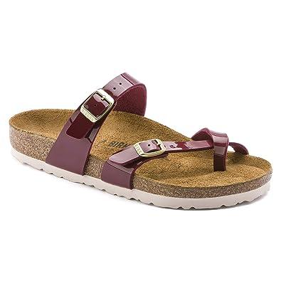 9fe73b480731 Birkenstock Mayari Womens Sandals 5 B(M) US Women Patent Bordeaux