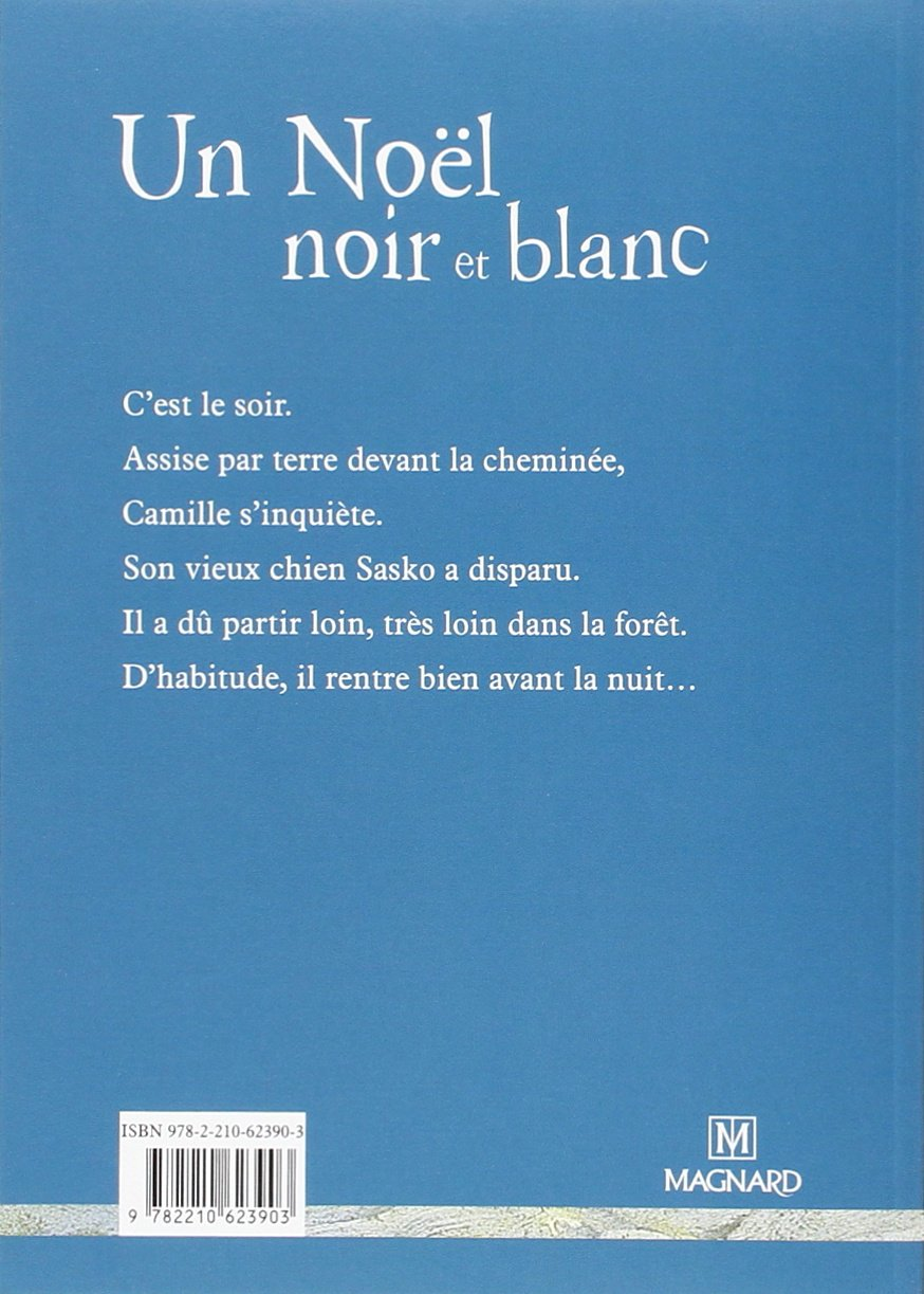 Amazon Un Noel Noir Et Blanc Ce2 Foreign Language Fiction