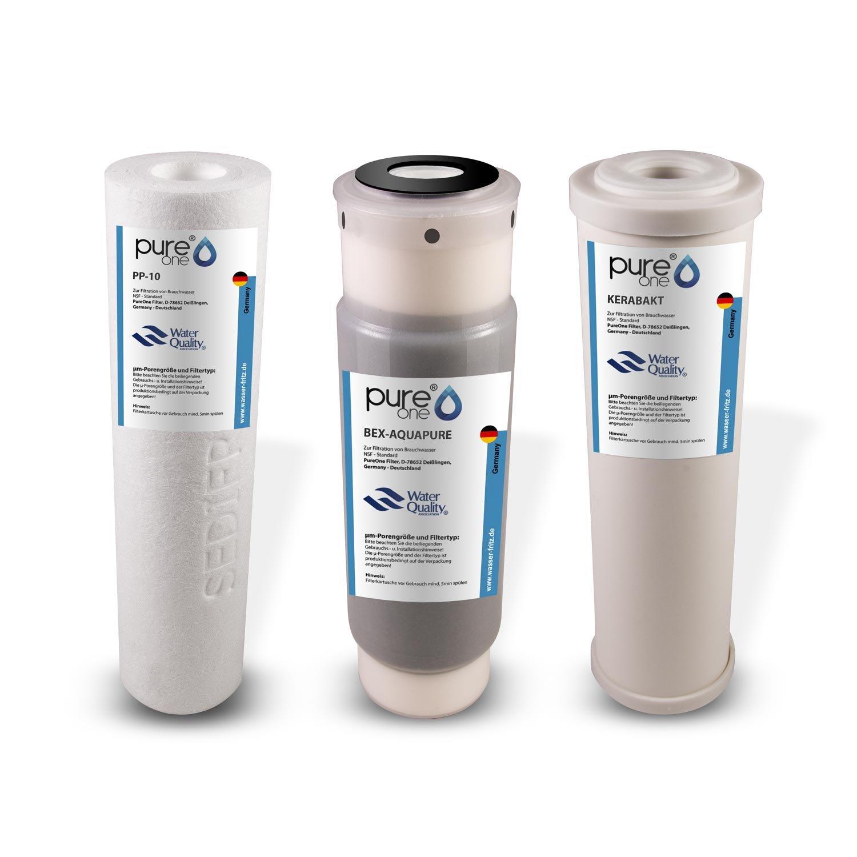 Firstline Frigistar CDA 3x AquaHouse UIFH Compatible para Haier 0060823485A Kemflo Aicro filtro de agua para refrigeradores Haier