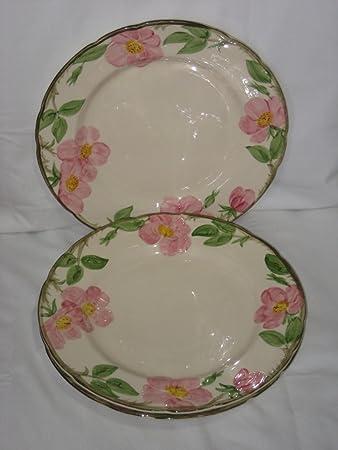Franciscan Desert Rose Earthenware Rimmed 10 Inch Dinner Plate USA & Amazon.com | Franciscan Desert Rose Earthenware Rimmed 10 Inch ...