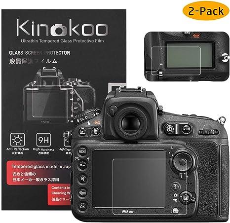 kinokoo Película de Vidrio Templado para Nikon D810/D800/D800E ...