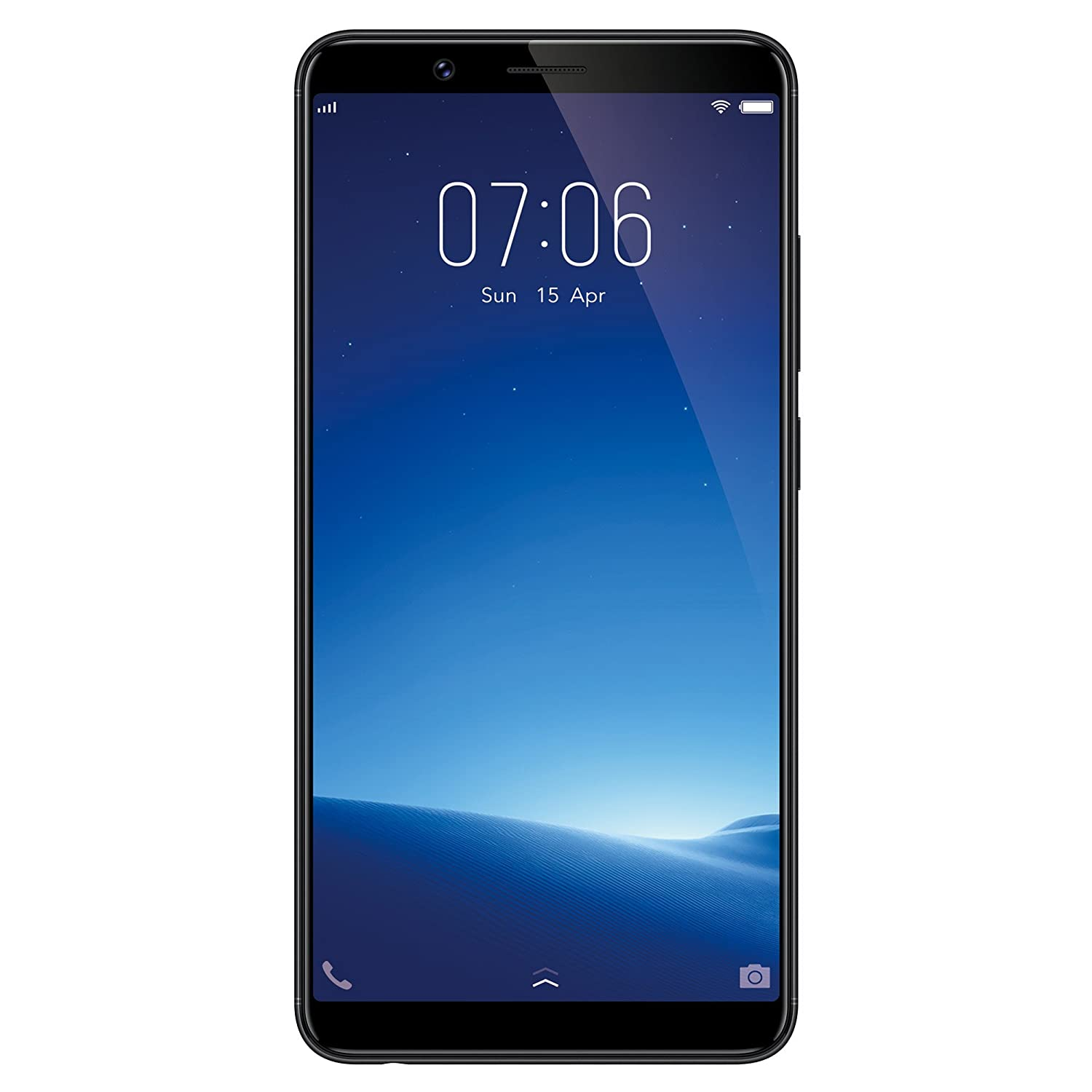 7afbd8df283 Vivo Y71 (Matte Black) Without Offers  Amazon.in  Electronics