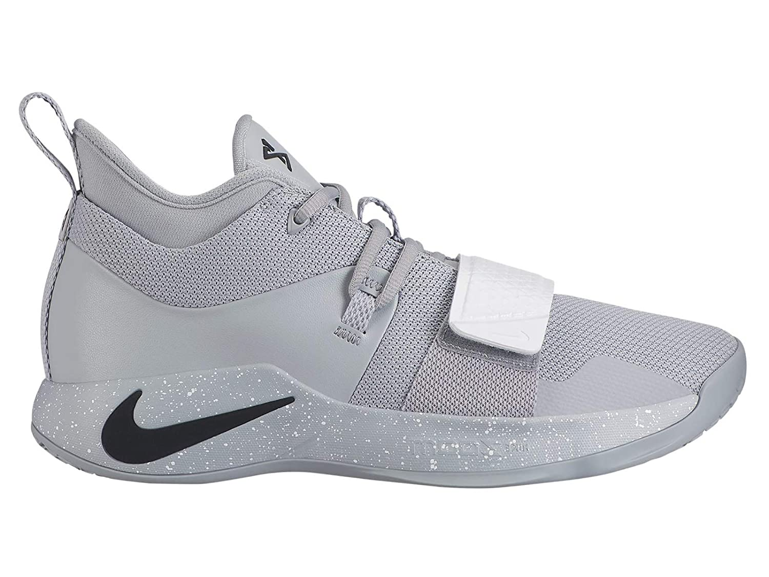 newest 9d2a1 12a06 Nike PG 2.5 - Men's Paul George Nylon Wolf Grey/Black/White Basketball  Shoes 13 D(M) US