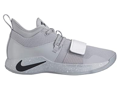 4ee6413fc3d67 Nike PG 2.5 - Men's Paul George Nylon Wolf Grey/Black/White Basketball  Shoes 13 D(M) US