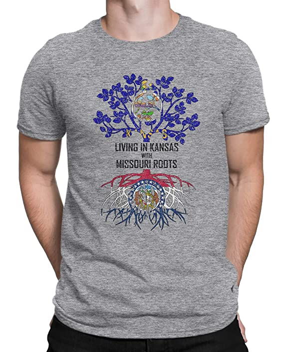 Tenacitee Babys Living in Jersey Kansas Roots Shirt