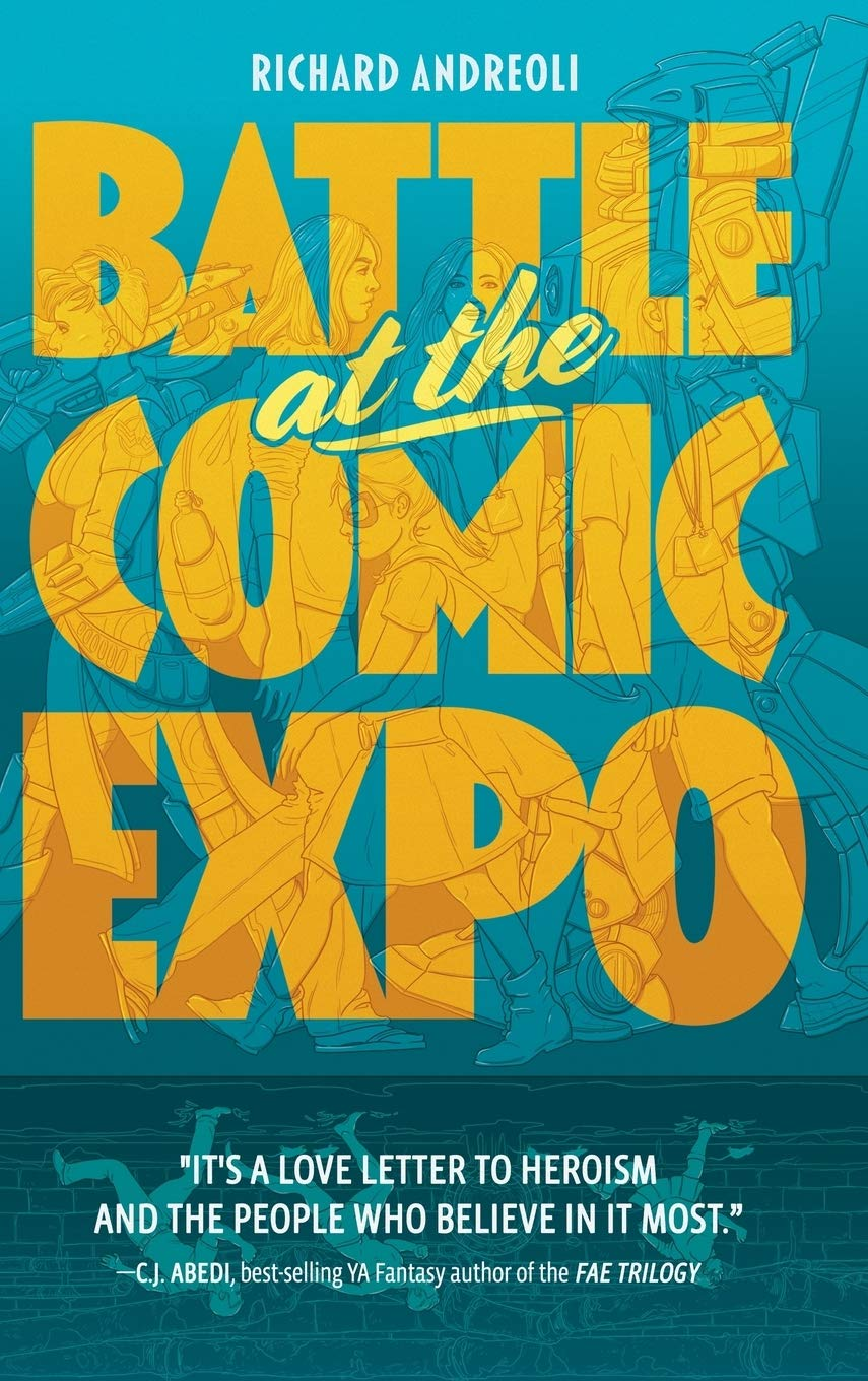 Amazon.com: Battle at the Comic Expo (9781732272415 ...