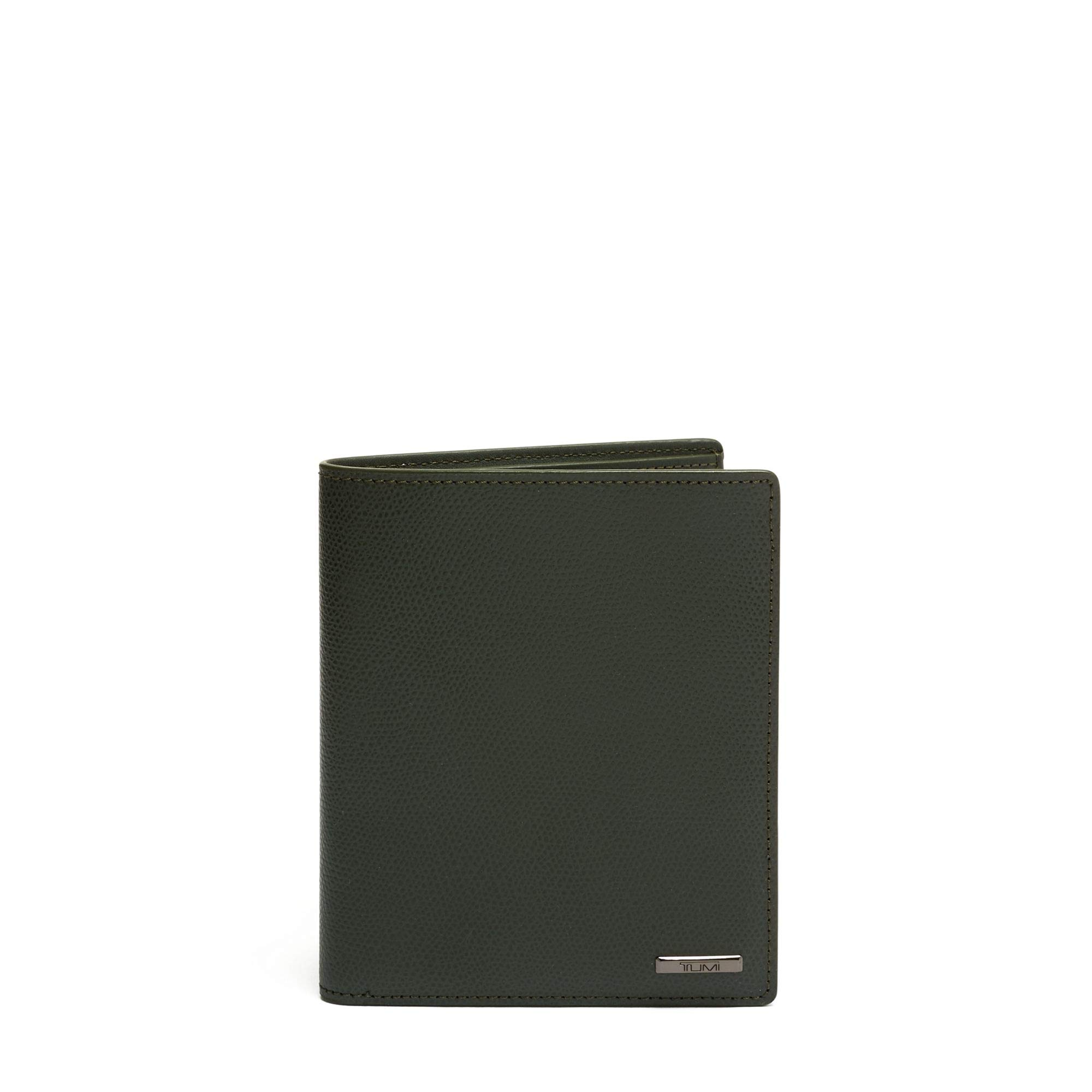 TUMI - Province Passport Case Holder - Wallet for Men and Women - Algae