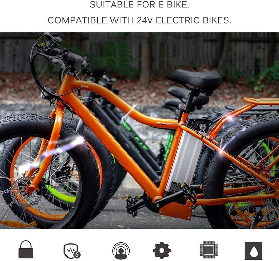 Funnyrunstore Batería para Bicicleta eléctrica de Alta Capacidad ...