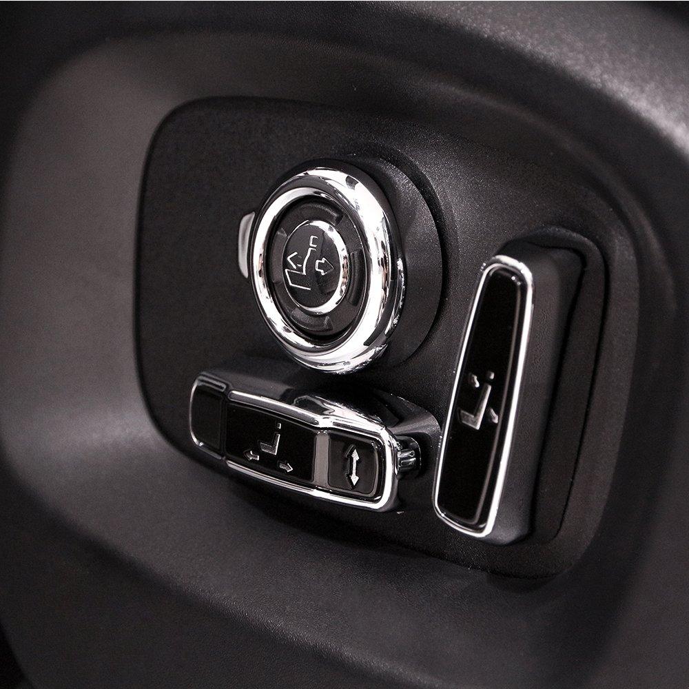Asiento de coche botó n de ajuste de coche Auto partes kit completo accesorios 8pcs BEINSTOCK