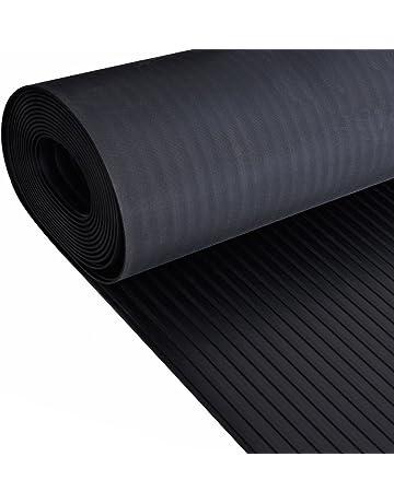 Rollo de piso ancho de goma acanalada | 4mm de espesor | 1.5m de ancho