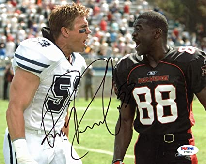 Image Unavailable. Image not available for. Color  Bill Romanowski The  Longest Yard Authentic Autographed Signed 8x10 Photo PSA DNA ... 854f08948
