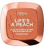 L'Oreal Paris Life's a Peach Powder Blush, Peach Addict, 9g