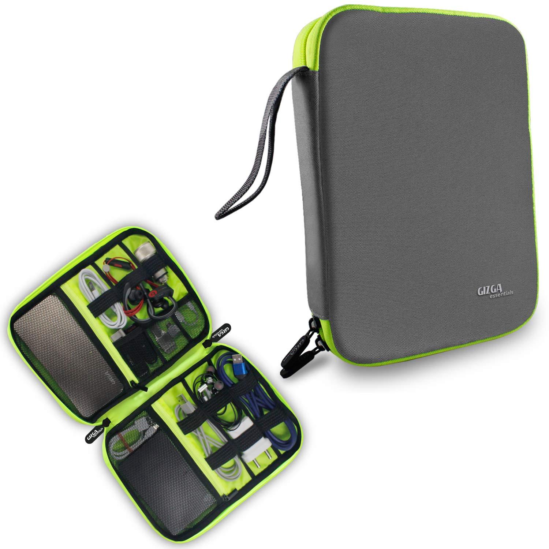 Gizga Essentials Gadget Organizer Case, Portable Zippered
