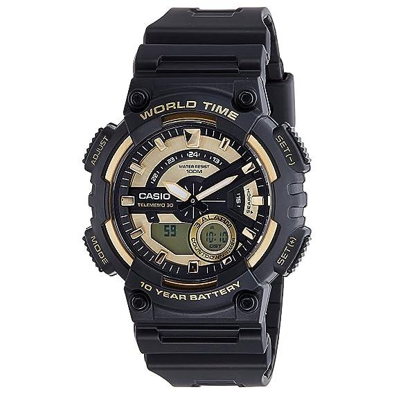 3d973e3541c2 Casio Reloj de Pulsera AEQ-110BW-9AVEF  Amazon.es  Relojes