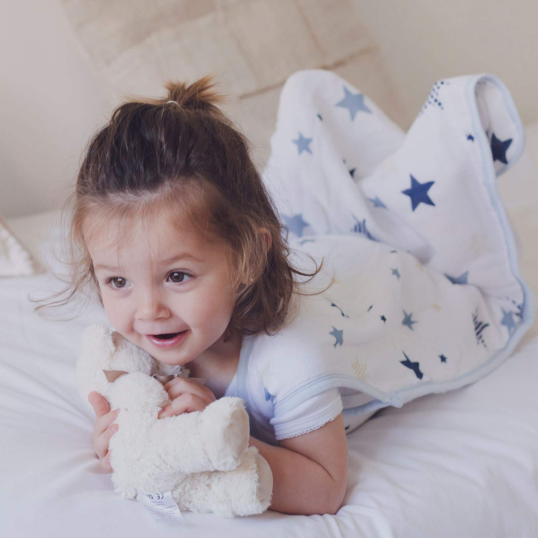 S/úper Suave y Ligero molis/&co Muselina Premium. 105 cm Saco de Dormir para beb/é Estampado de Kiwi Ideal para Verano Unisex 0.5 TOG 18-36 Meses