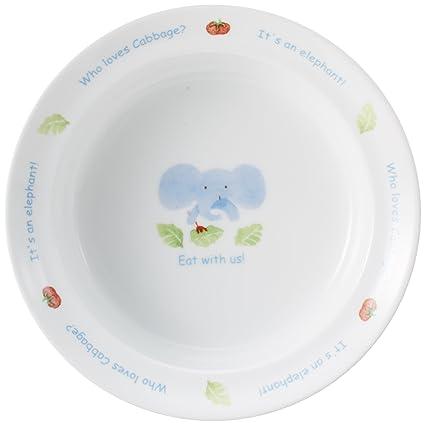 Eat in (Narumi) everyone NARUMI [made in Japan child tableware] porridge bowl  sc 1 st  Amazon.com & Amazon.com: Eat in (Narumi) everyone NARUMI [made in Japan child ...