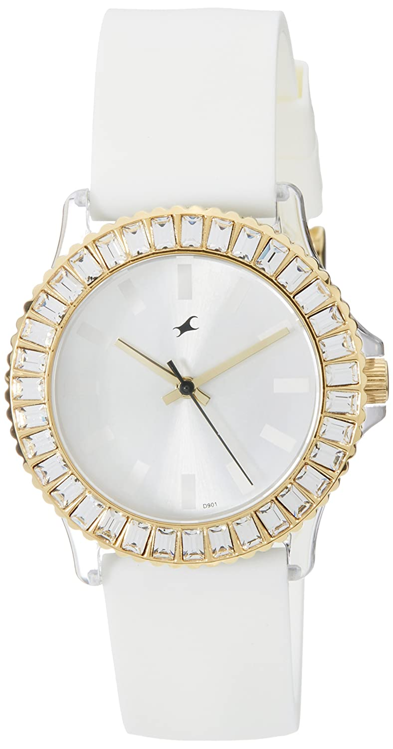 set watches herdkny womens watch dialanaloguse resistantwhite round water dkny dknygender pin band ladies stone plastic white brand