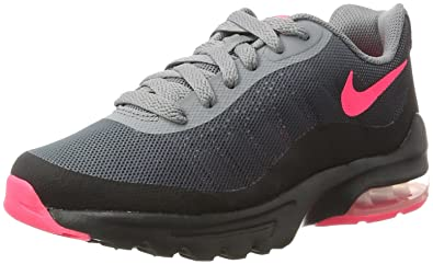 Nike Air Max Invigor GG, Chaussures de Fitness Fille, Noir (Black/Racer