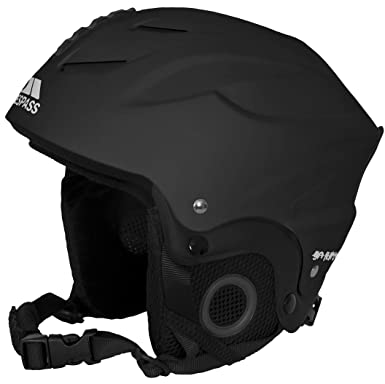 TRESPASS Burlin - Casco de esquí, Negro, S (48-52 cm)