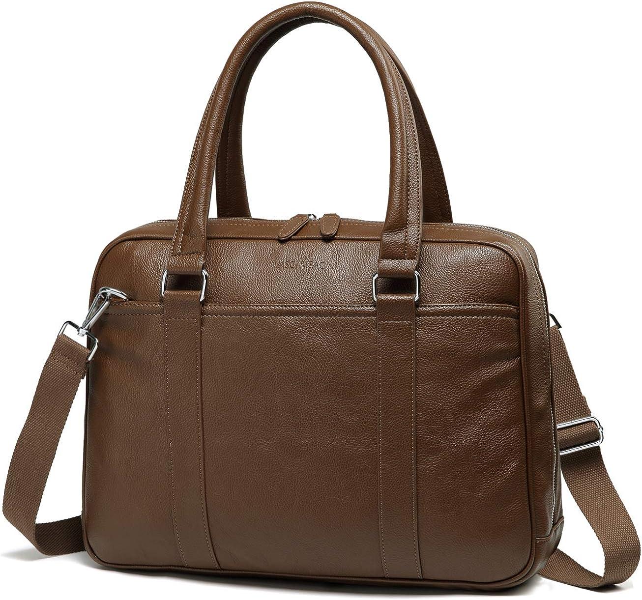Laptop Bag for Women, VASCHY Slim Briefcase Business Messenger Bag 14 inch Laptop Handbag for Work