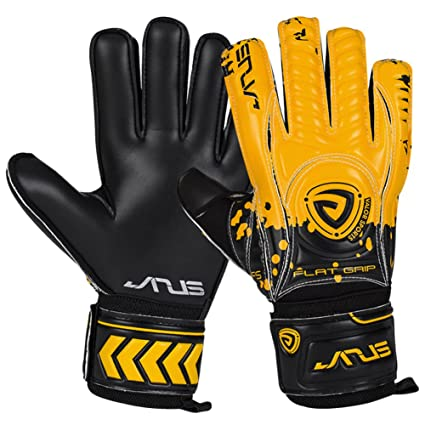 ed7202fd5 JYH Adult & Youth Soccer Goalkeeper Gloves with Pro Finger Protect 4mm  Strong Grip German Latex
