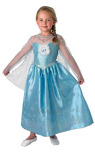 Rubie's Official Disney Frozen Deluxe Elsa Costume - Medium