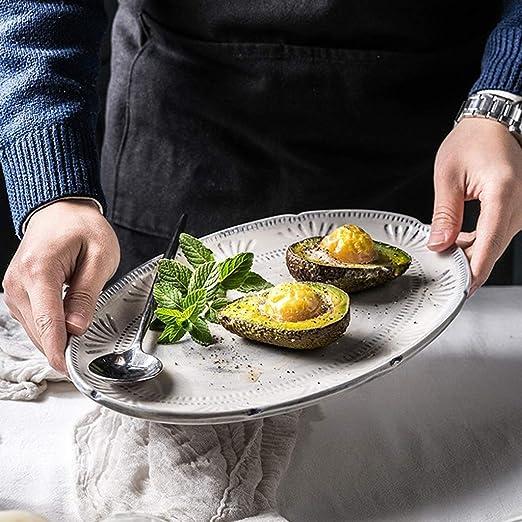 sdac Vajilla/Cocina Filete Pasta Plato de desayuno Ensalada ...
