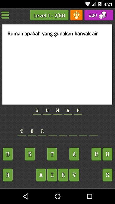 tebak kata susah  amazon com teka teki lawak appstore for android