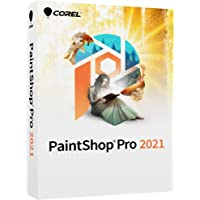 Corel Paintshop Pro 2021 Photo Editing and Graphic Design Software AI Powered Features [PC Disc] [Old Version]