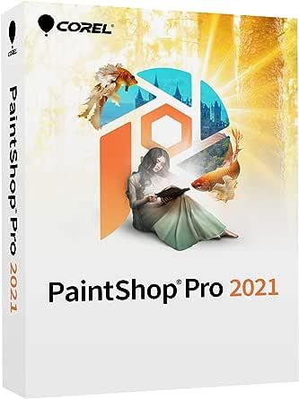 Corel PaintShop Pro 2021   Photo Editing & Graphic Design Software   AI Powered Features [PC Disc] [Old Version]