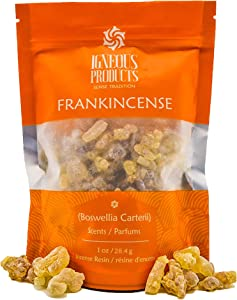 Igneous Products Frankincense Resins - Boswellia Carterii (Botanical Name) - 1 oz. (28.35grams)