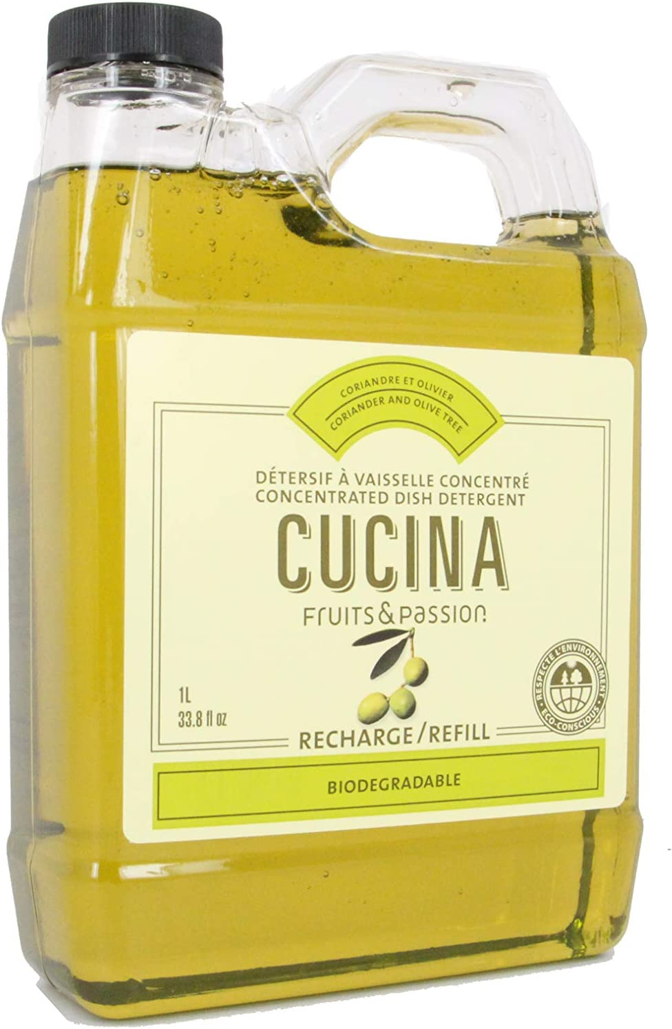 Cucina Concentrated Dish Detergent Refill Coriander and Olive Tree by Cucina