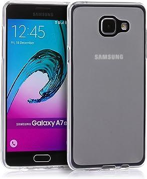 tinxi® Coque Samsung Galaxy A7 5,5 Pouces(2016 Version) Coque de Protection en Silicone TPU pour Samsung A7 2016 Case Cover Housse étui Coque Mate ...