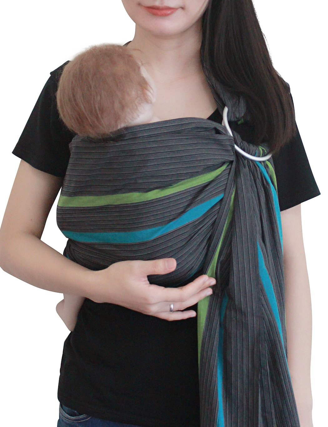 Baby Sling Ring Sling Carrier Wrap by Vlokup