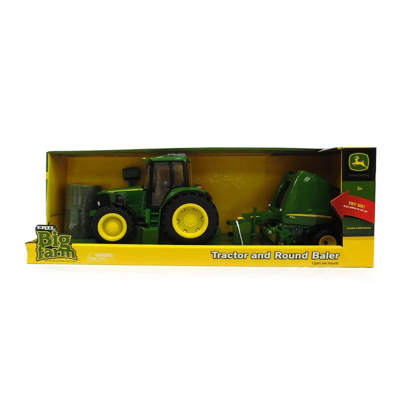 TOMY John Deere Big Farm Tractor & Baler
