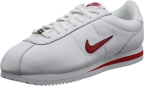 Nike Cortez Basic Jewel QS TZ weiß rot Sneaker sportlich