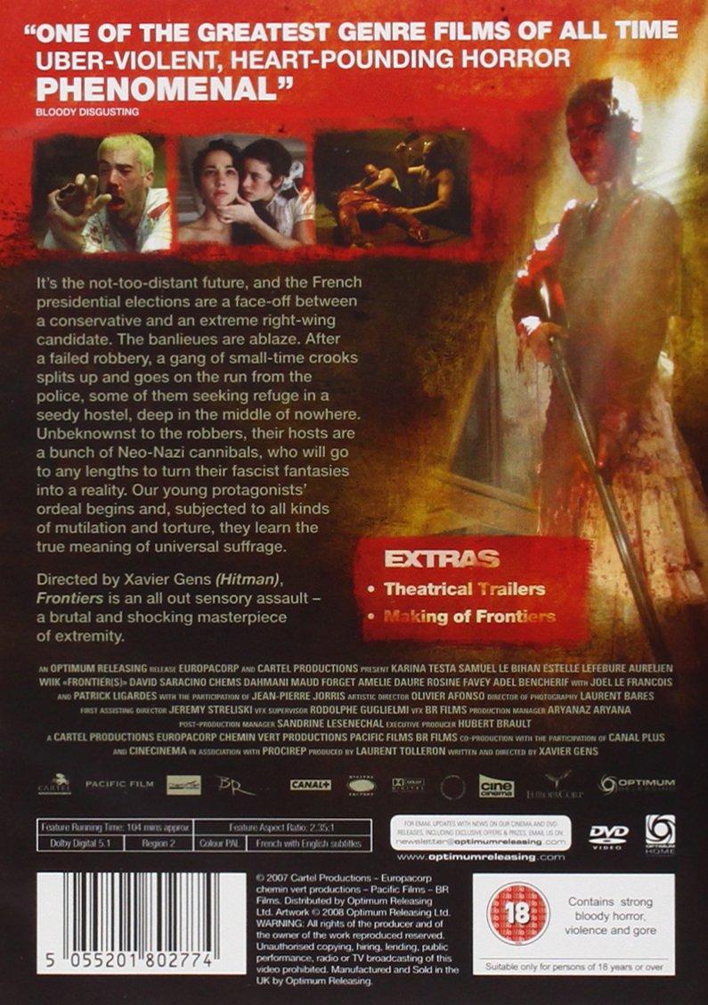 Amazon.com: Frontiers [DVD] (18): Movies & TV