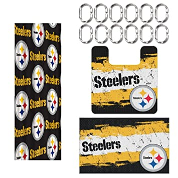 Amazon.com : Pittsburgh Steelers 15 Piece Bath Set By Northwest ...