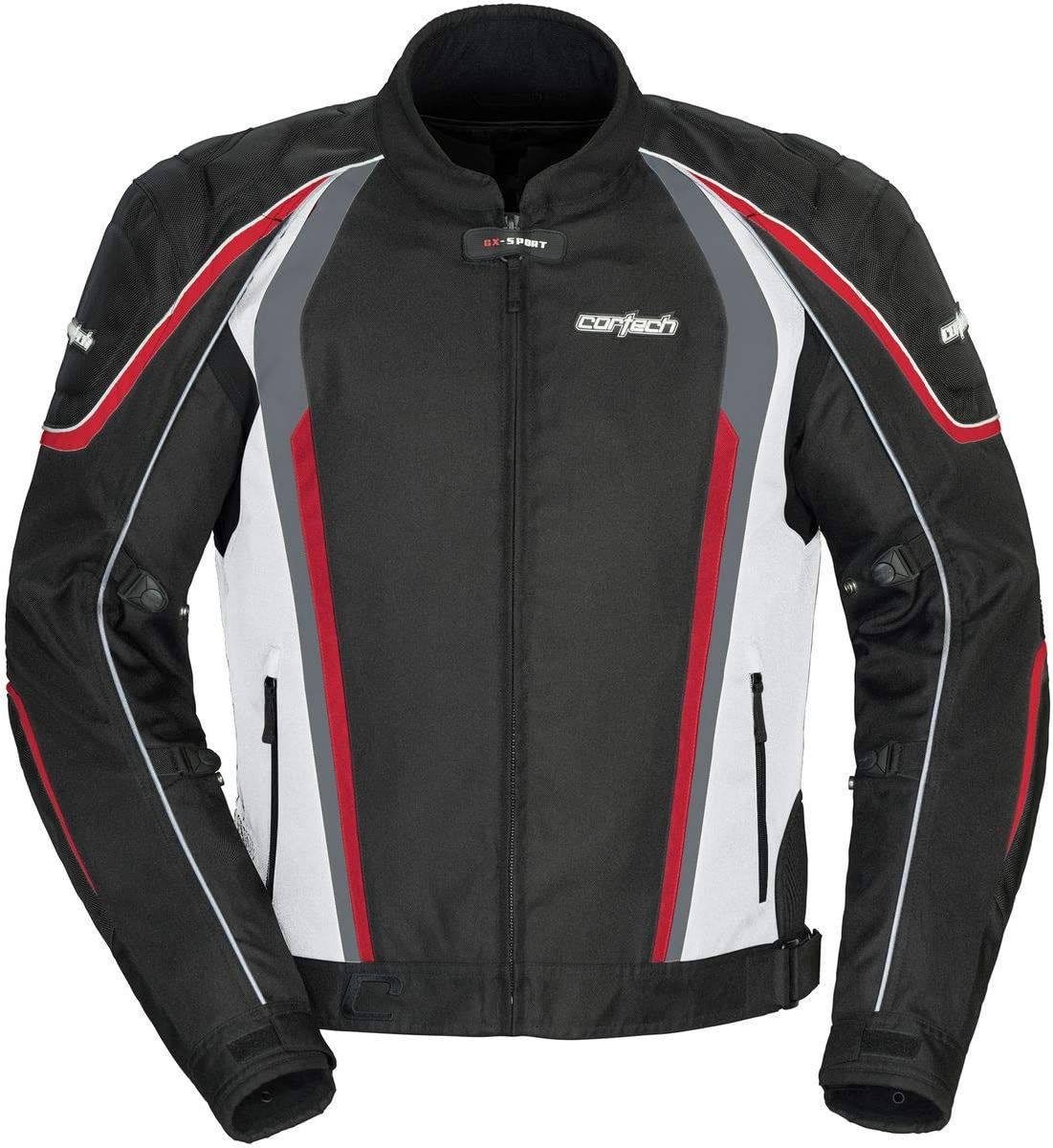 Black//HI-VIS X-Small Cortech GX SPORT Mens Mesh 4.0 Racing and Motorcycle Jacket