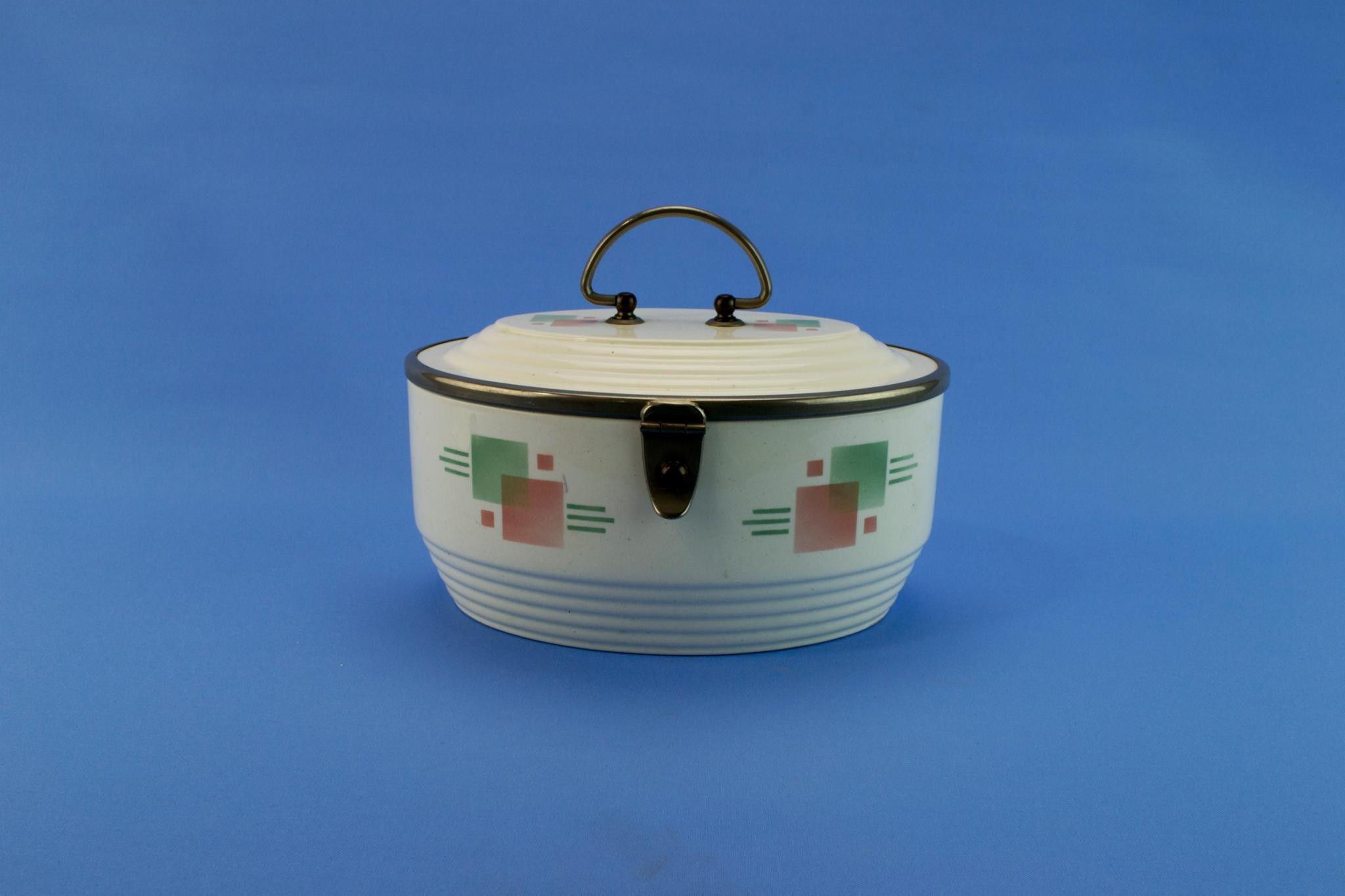 WMF 1930s Tea Caddy Storage Box Jewellery Vintage German Art Deco