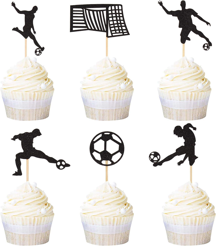Soccer Ball Sports Birthday ~ Edible 2D Fondant Cake Cupcake Topper ~ D21997 *