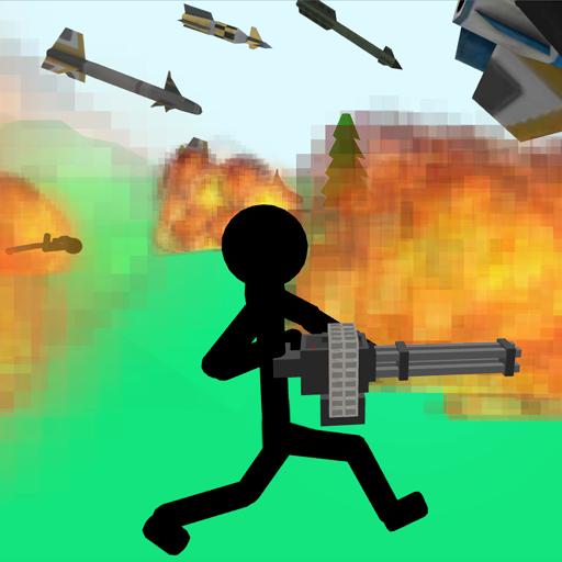 Stickman Gun War 3D ()