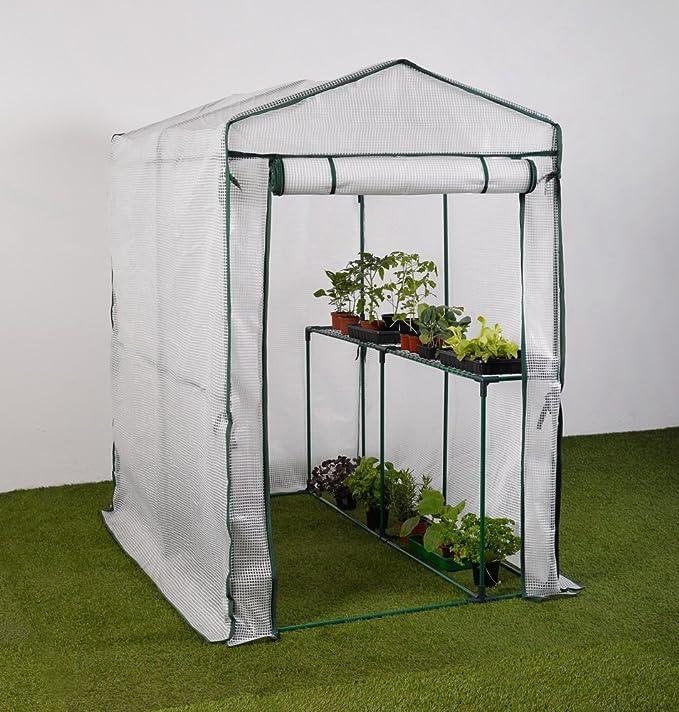ShelterLogic Foliengewächshaus 9m² Treibhaus Anzuchthaus Tomatenhaus Garten